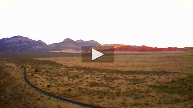 Quadcopter Over Redrock Canyon